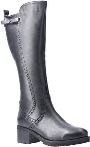 Riva Larnaca Ladies Long Boots Black
